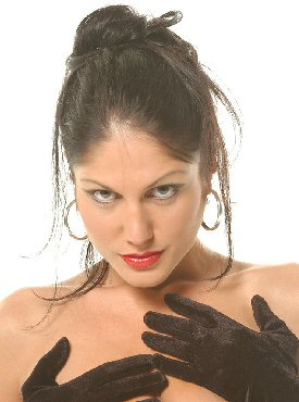 Domina Cinara - Long Gloves